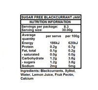 Hawthorne Hill- Sugar Free Blackcurrant Jam 250g