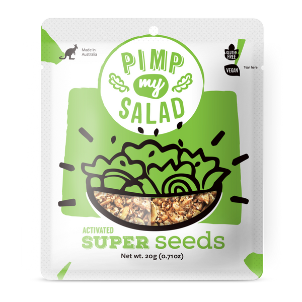 Pimp My Salad-Super Seed  (20g) Pocket Size(Best Before 26/03/21)