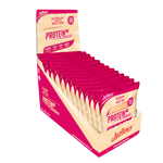 Justine Protein Cookie- White Chocolate Raspberry 64gx12