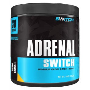 Switch Nutrition- Adrenal Switch 30 servings ( Salted Caramel)