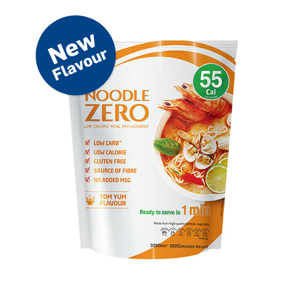 Noodle Zero - Tom Yum Flavour - Low Calorie(Best Before March 21)