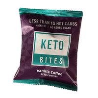 Keto Bites-Vanilla Coffee Keto Mini Cookies-25g