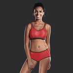 "Anita 5529 Momentum ""RED"" Woman's High impact Sport Bra"