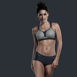 "Anita 5537 Dynamix Star ""GREY"" Woman's Maximum Support Sport Bra"