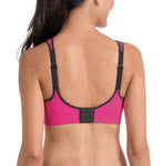 "Anita 5544 ""PINK/ANTHRACITE"" Woman's Air Control Padded Cup Sports Bra"