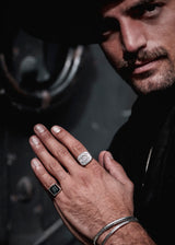 "Silber Ring ""Apollo"""