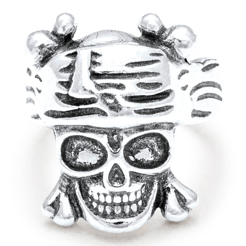 "SILBER RING : ""Pirate"""