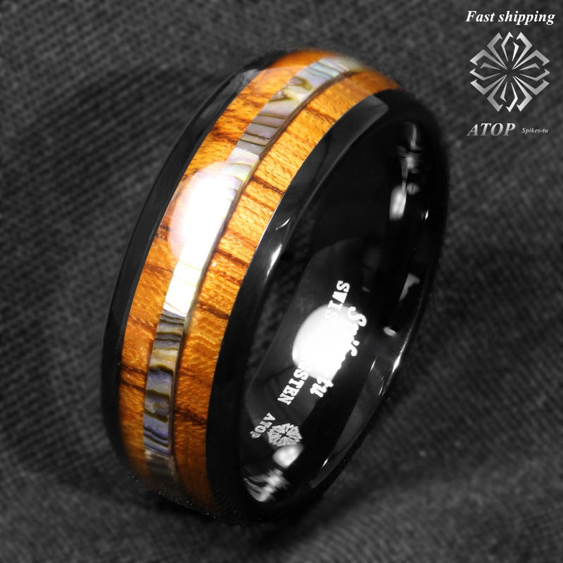 products/8mm-Black-Tungsten-carbide-ring-Koa-Wood-Abalone-ATOP-Wedding-Band-Men-s-Jewelry_ee2c769c-b8c9-4e00-9513-554560661ca7.jpg