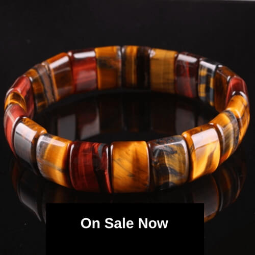 Tiger's Eye Natural Bracelet - Balance and Harmony *