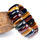 Tiger Eye Natural Stone Bracelets - For Women / Men *