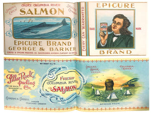 Columbia River Salmon - As Written in 1897