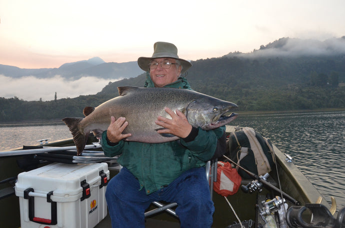 Chiles New Salmon Fishery written by Harry Morse