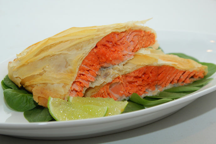 Phyllo Wrapped Salmon Recipe