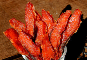 Salmon Jerky Recipe by Tiffany Haugen