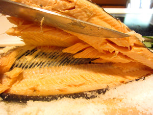 Salt Crusted Trout Recipe