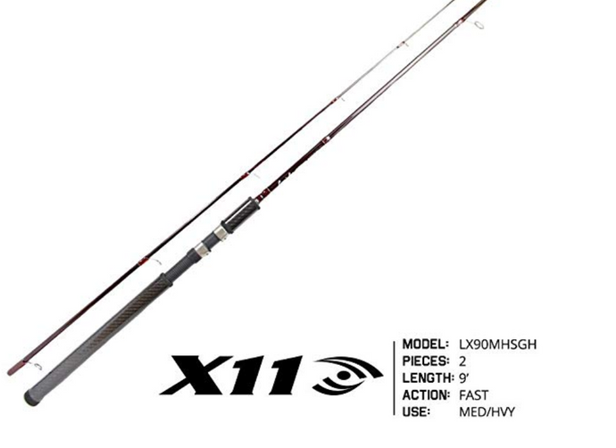 A True Salmon AND Steelhead Spinning Rod from Lamiglas