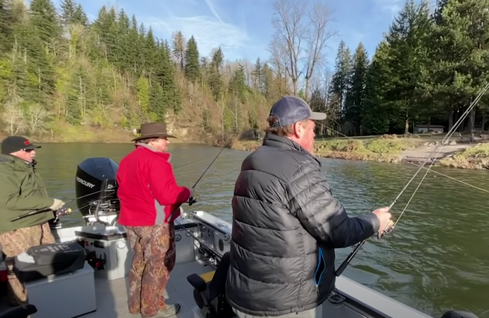 January Steelhead Fishing - Buzz Ramsey, Nick Amato, Jack Glass & Steve Lynch