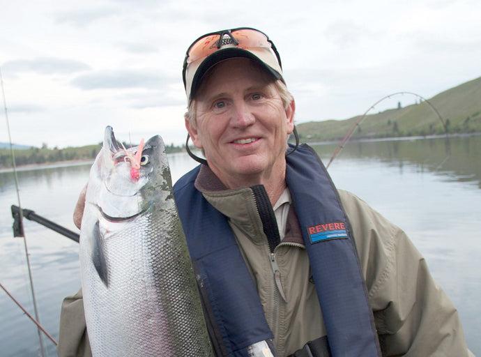 Top-Lining Early-Season Kokanee with Gary Miralles by Larry Ellis