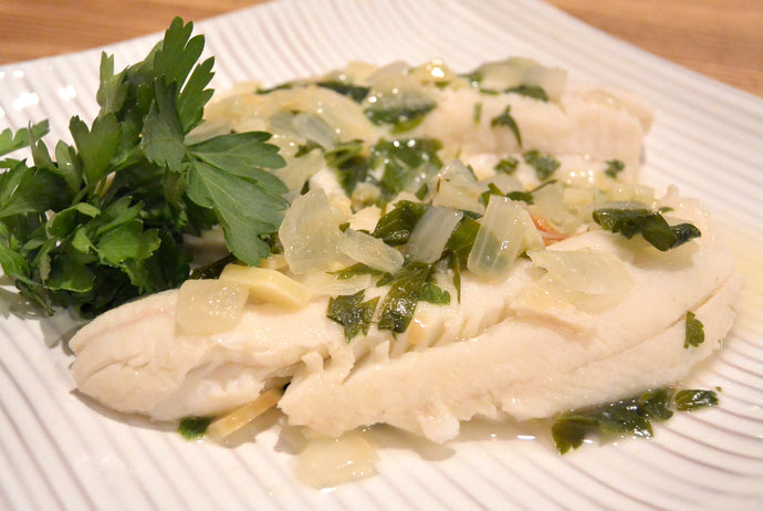 Butter Poached Walleye by Tiffany Haugen