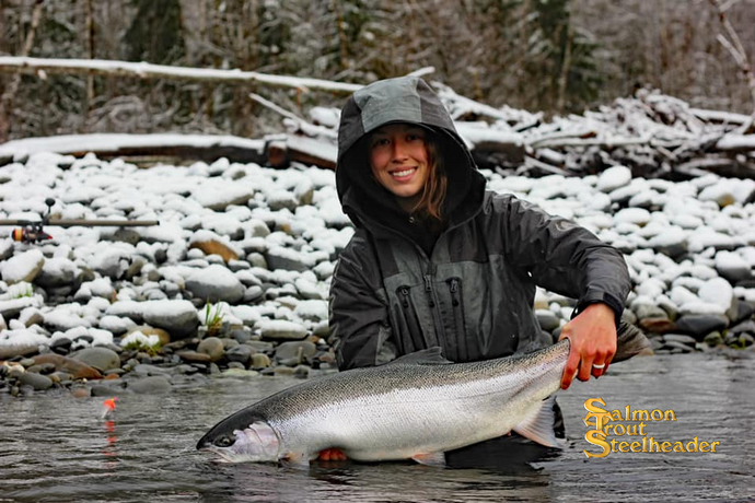 Winter Steelhead Travel Patterns - Keith & Zoey Johnson (Video)