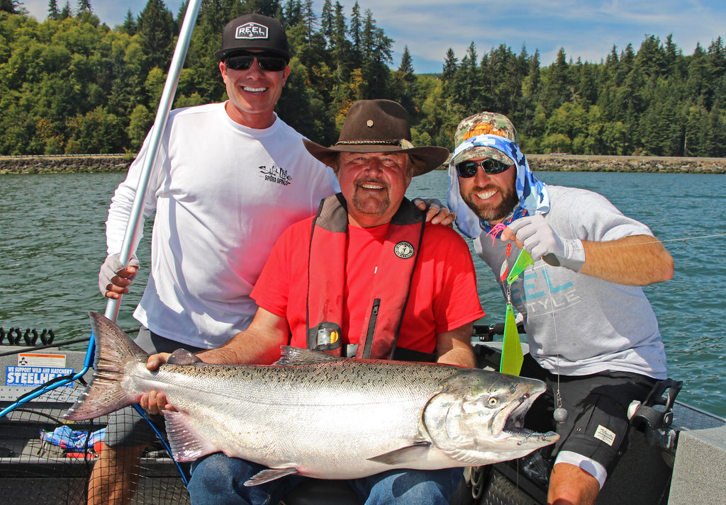 buzz ramsay fishing chinook king salmon