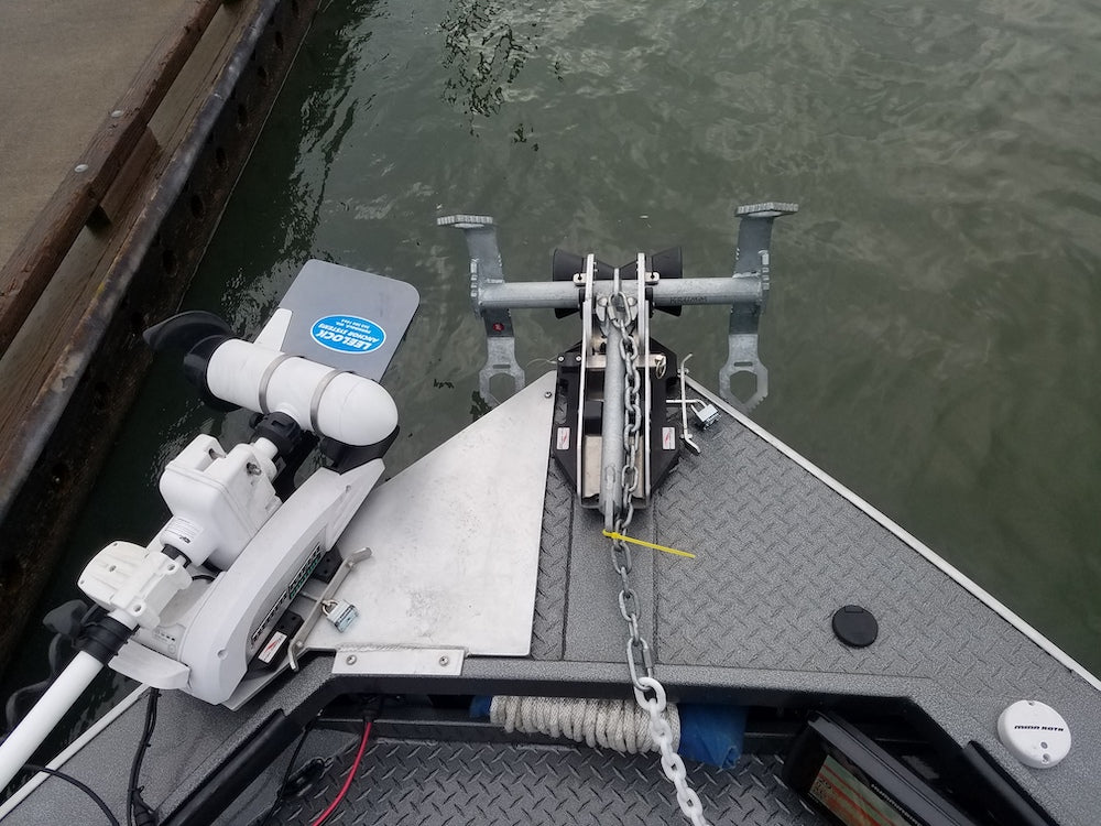 Fish Fighter Products' Quick Mount system