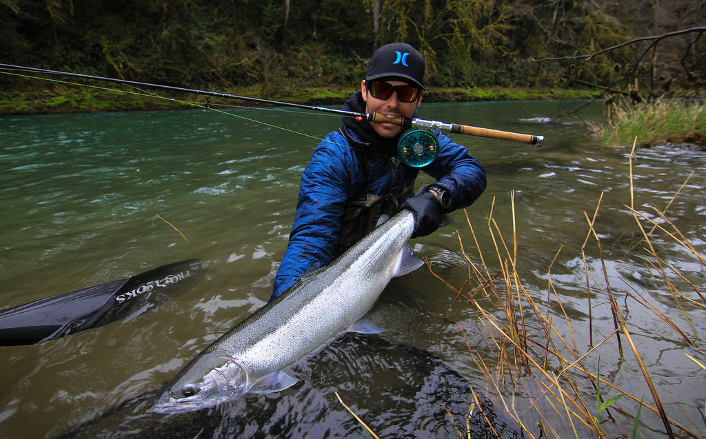 wild steelhead fishing olympic peninsula