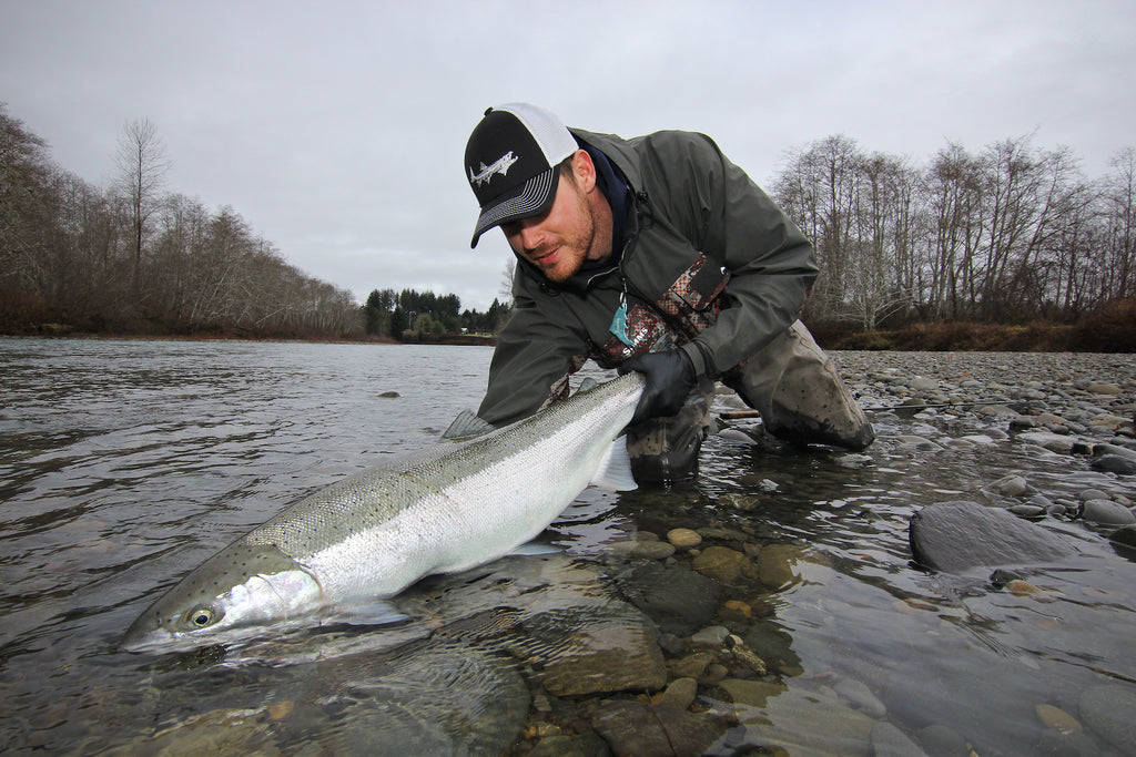 joseph princen fishing steelhead giant wild big