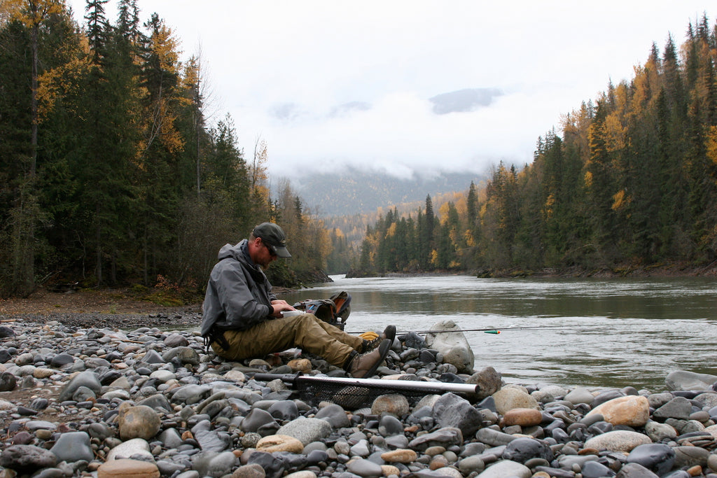 blown out canada steelhead fishing