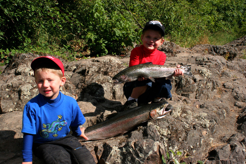 scott haugen fishing family salmon trout steelhead