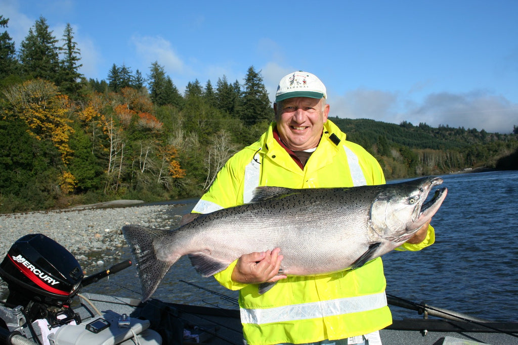 big chinook salmon fishing kings