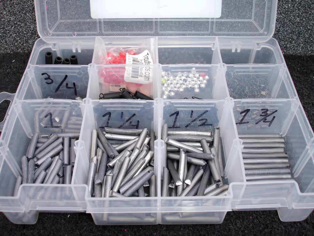 plastic tackle boxes