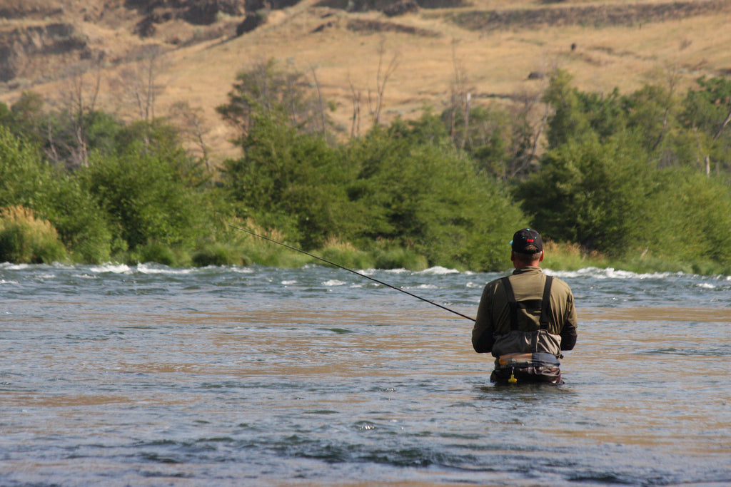 Battling Steelhead Ledges by Scott Haugen – Salmon Trout Steelheader