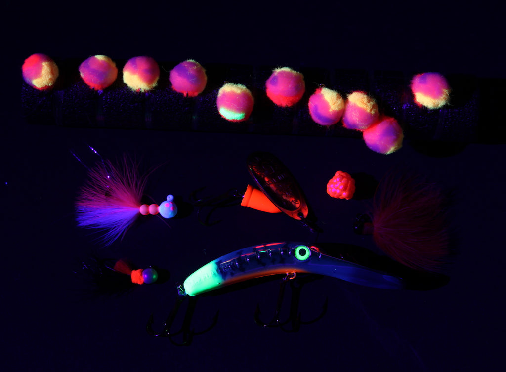 uv steelhead salmon fishing lures
