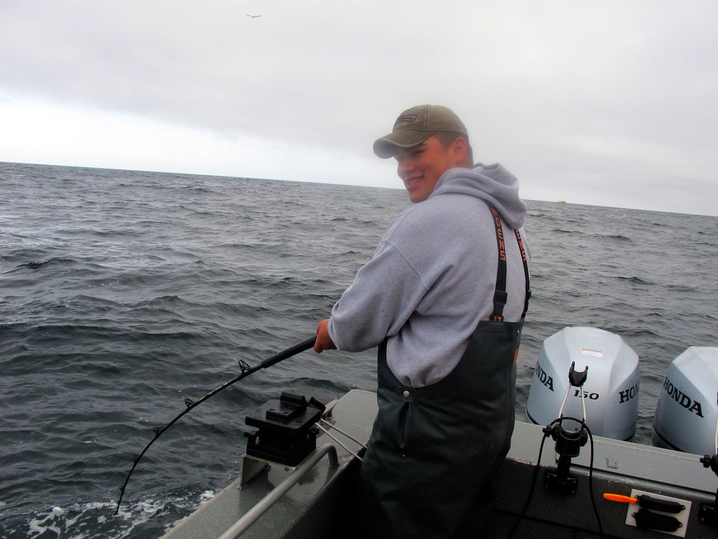 fishing fish charter ilwaco halibut salmon