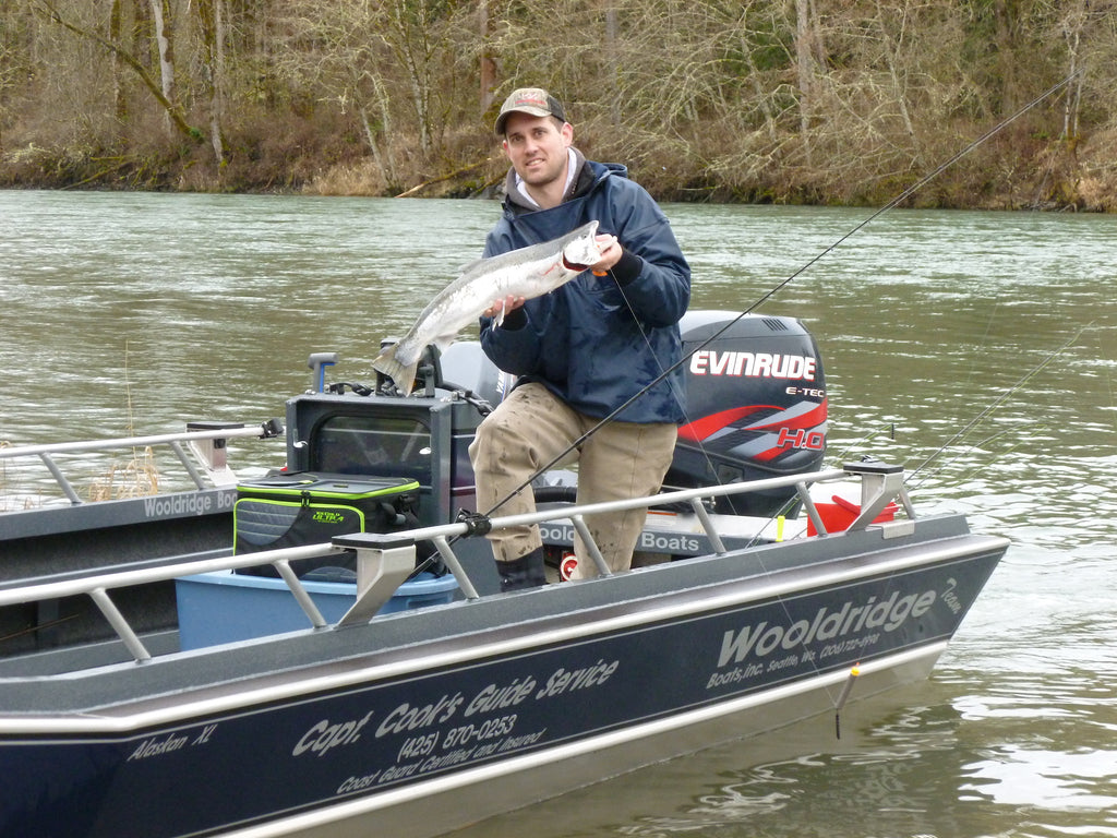 steelhead jet sled fishing