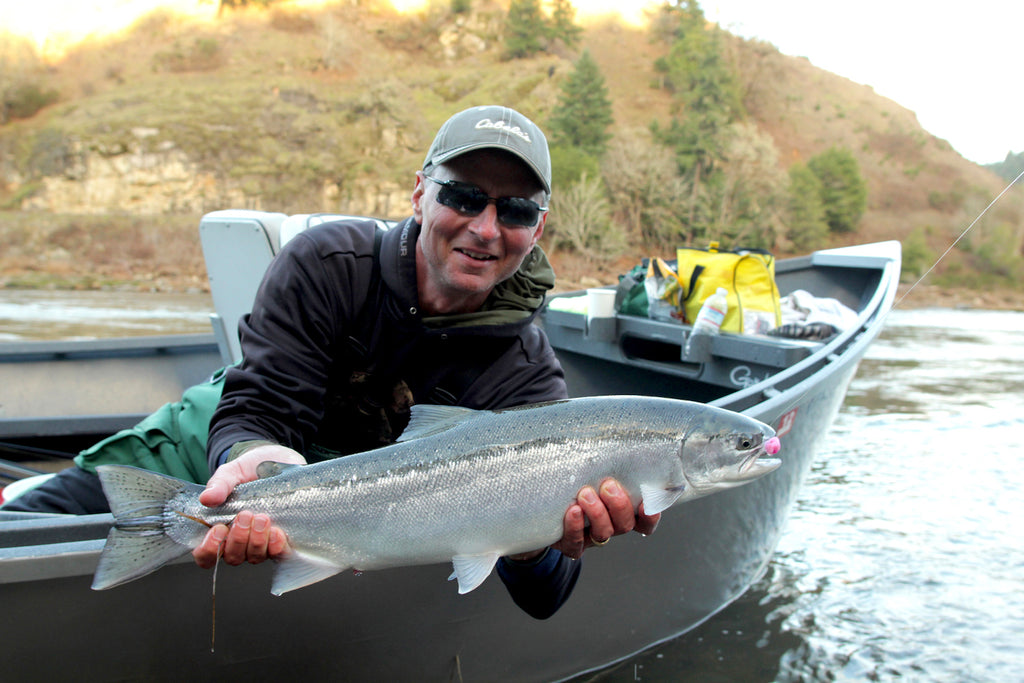 steelhead fishing driftboat