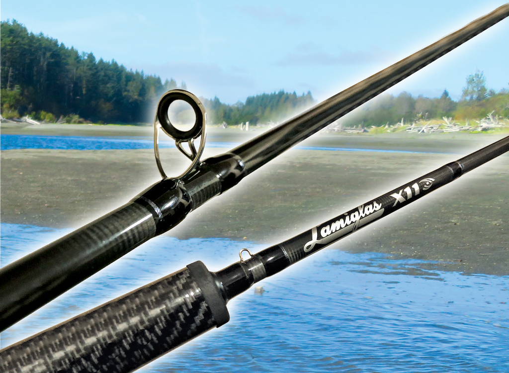 x11 casting rod fishing lamiglas