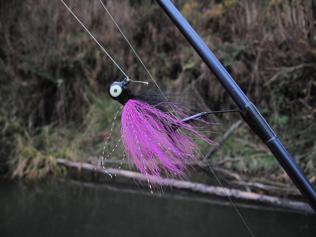bucktail twitching jig