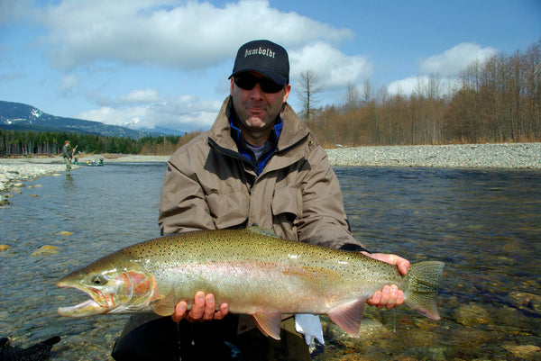 steelhead fishing in flats california oregon
