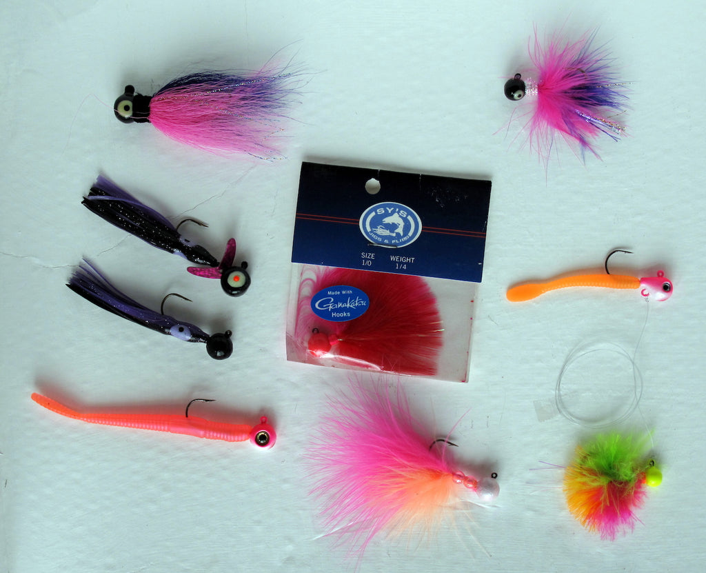 steelhead salmon jigs fishing