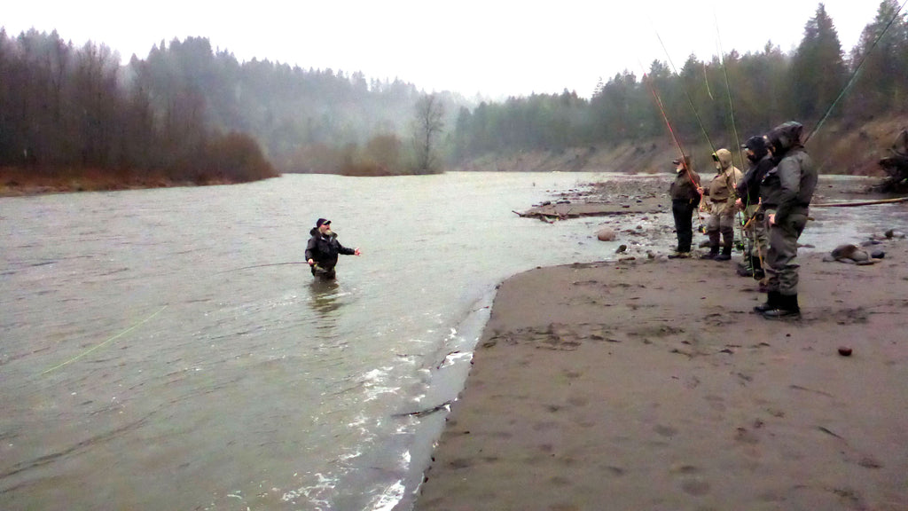 guided fishing fly rods skagit spey