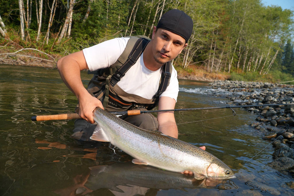 summer steelhead wynoochie river keith johnson lucas holmgren