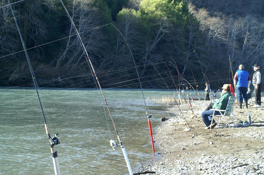 plunking for steelhead fishing bank plunk