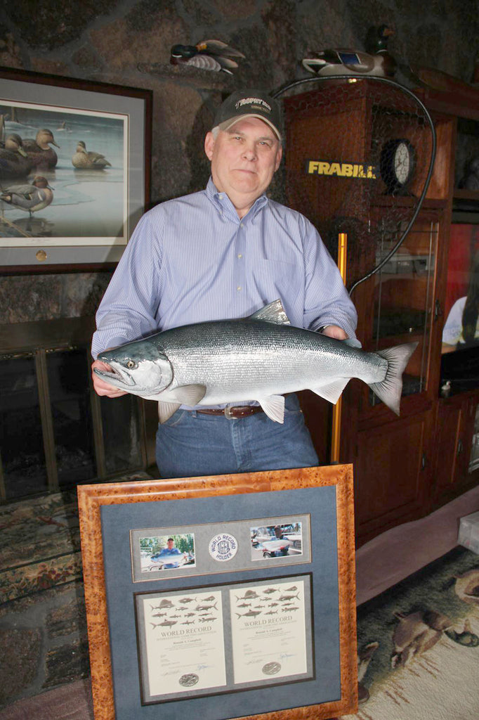 wallowa world record kokanee fish