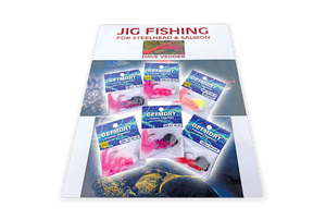 Buy the Jig Fishing Book by Dave Vedder get 6 Steelhead Jigs FREE