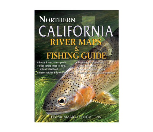 Northern California River Maps & Fishing Guide | Postage Paid