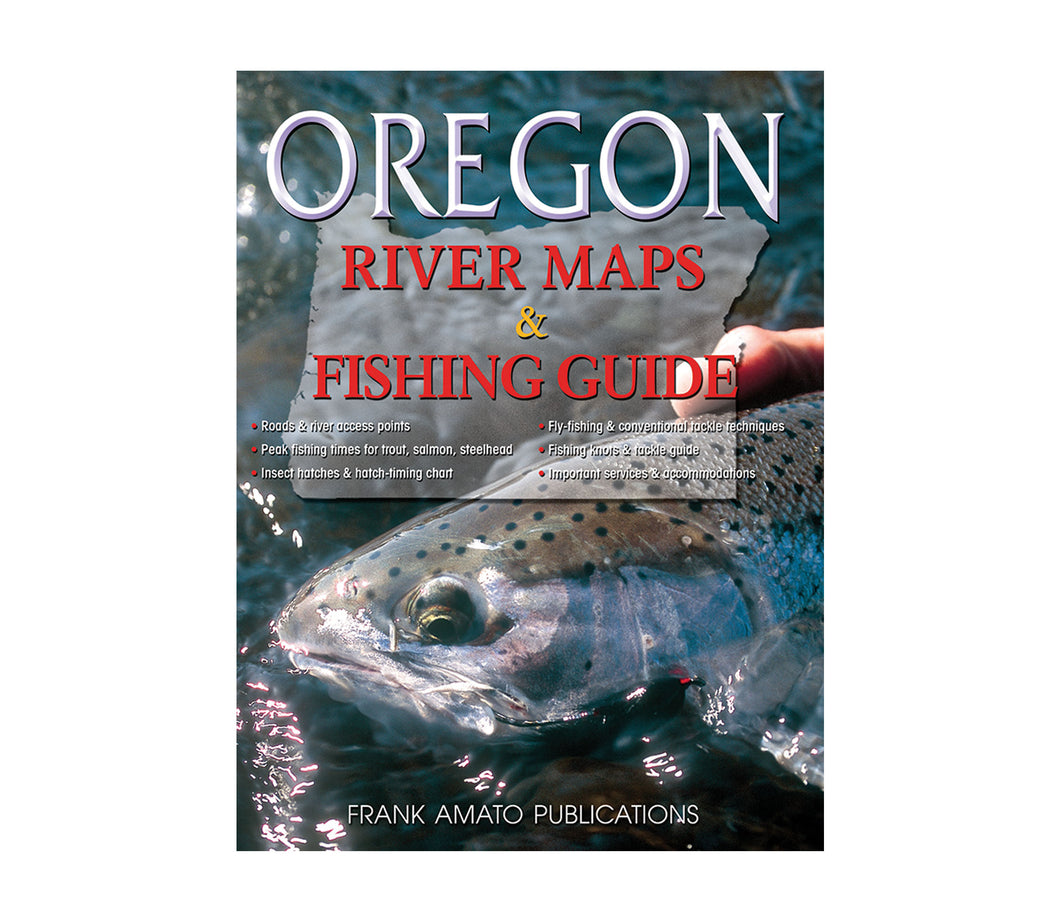 Oregon River Maps & Fishing Guide | Postage Paid