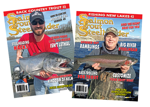 1 Yr. Subscription Salmon Trout Steelheader