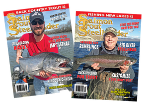 1 Yr. Subscription Boost | Postage Already Paid: Salmon Trout Steelheader